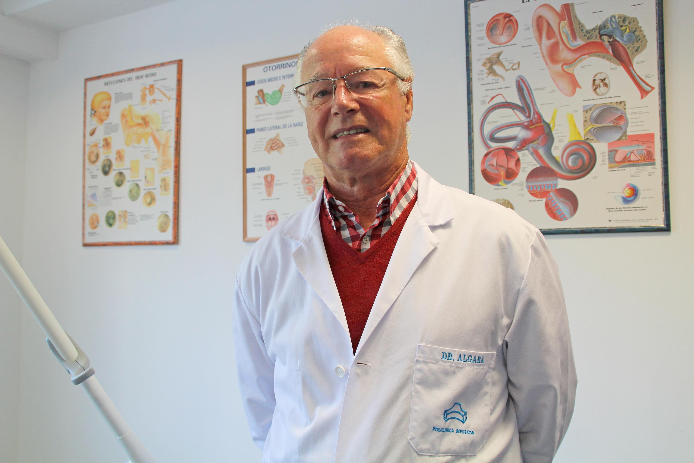 El otorrinolaringólogo de Policlínica Gipuzkoa Jesús Algaba