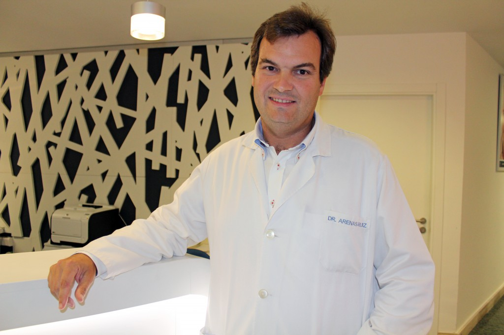 Dr. Juan Arenas, del Servicio del Aparato Digestivo de Policlínica Gipuzkoa