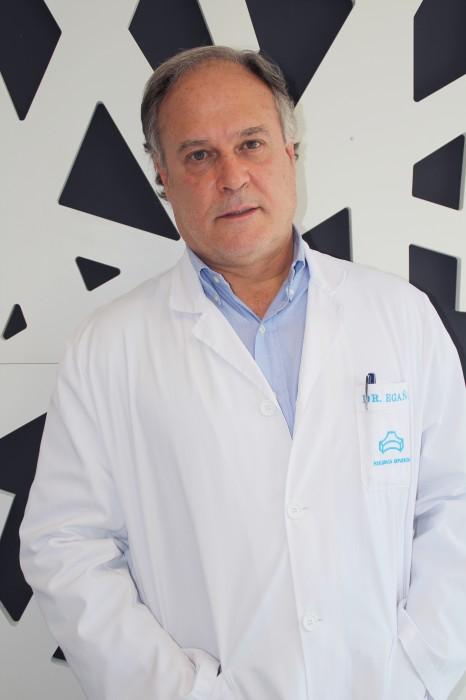 El especialista en cirugía vascular José M. Egaña de Policlínica Gipuzkoa