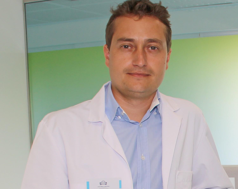 Javier Alfaro, podólogo de la Unidad del Pie de Policlínica Gipuzkoa y Podoactiva