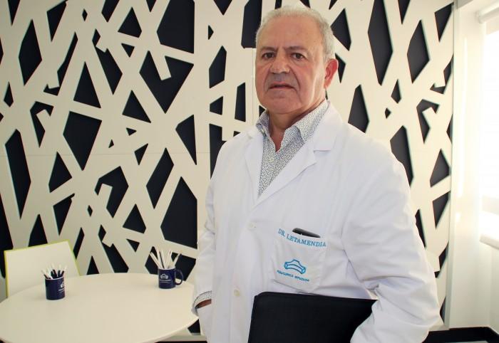 Dr. Ander Letamedia, cirujano vascular de Policlínica Gipuzkoa