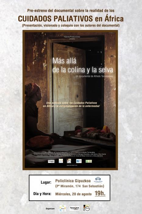 Cartel Pre-estreno Más allá de la colina y la Selva