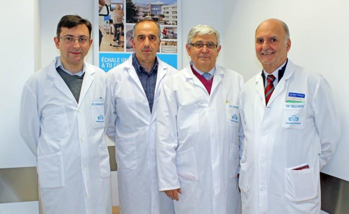 Equipo de cardiólogos de Policlínica Gipuzkoa