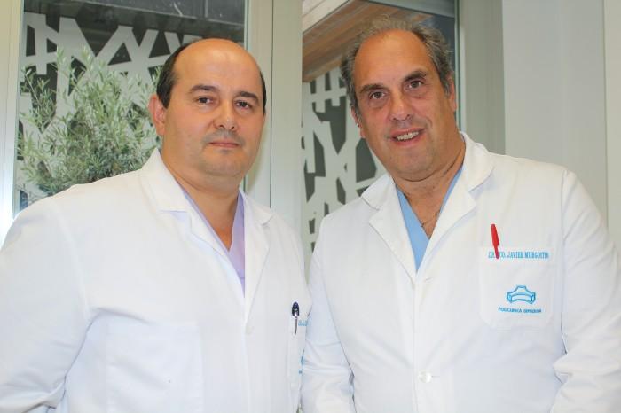 José Luis Elosegi y Javier Murgoitio Cirujanos del Aparato Digestivo