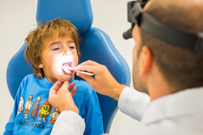 Exploración otorrinolaringológica infantil