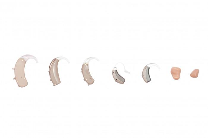 Audífonos, implantes auditivos