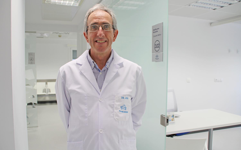 Dr. Javier Ansa Goenaga Urólogo Policlínica Gipuzkoa