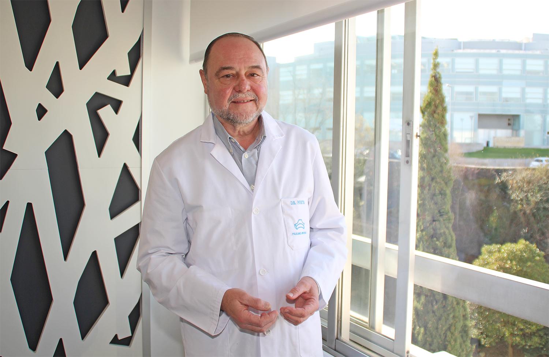 El cirujano vascular, Dr. Ricardo Porta, de Policlínica Gipuzkoa