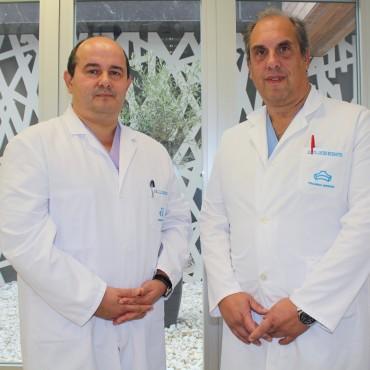 Los cirujanos generales y del aparato digestivo, José Luis Elósegui y Javier Murgoitio