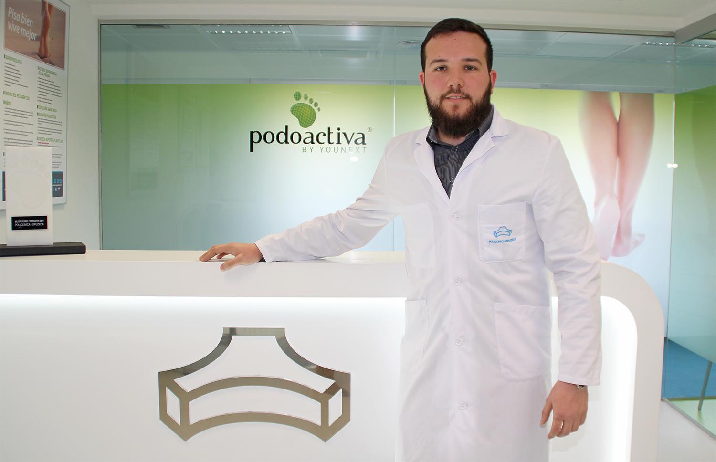 Antonio Martínez, podólogo de la Unidad del Pie de Policlínica Gipuzkoa y Podoactiva
