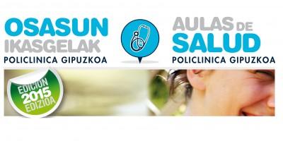 Aulas de Salud de Policlínica Gipuzkoa 2015
