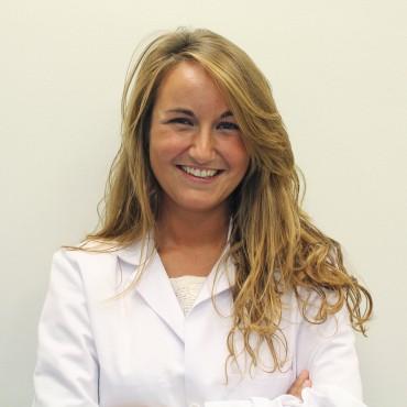 La dermatóloga Susana Gómez del centro de consultas de Policlínica Gipuzkoa en Eibar