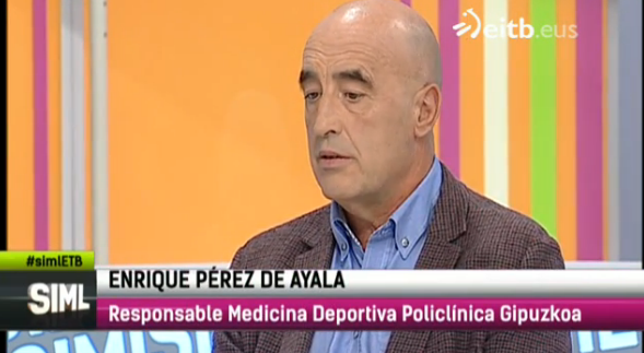 Enrique Pérez de Ayala en ETB2