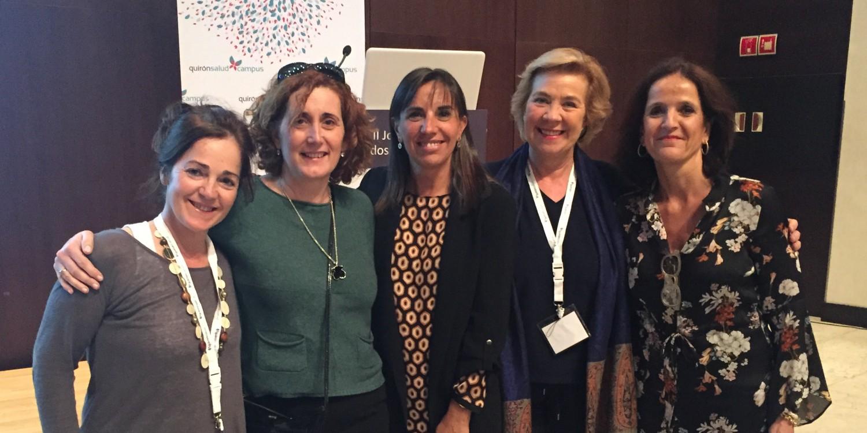Premiada Alicia Franco, enfermera de Quirófano, en la II Jornada de cuidados Quirónsalud