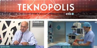 """El Servicio de Cirugía Cardiovascular de Policlínica Gipuzkoa ha participado en el programa """"Teknopolis"""" de ETB"""