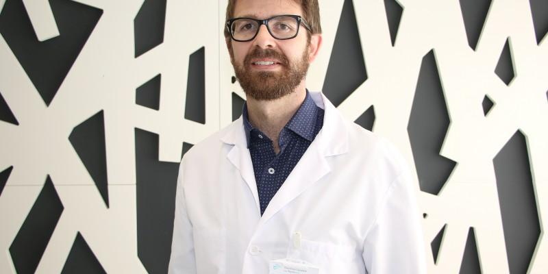 Dr. David López, especialista en cirugía maxilofacial de Policlínica Gipuzkoa.