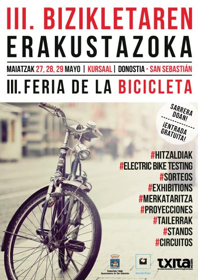 La Unidad de Biomecánica del Ciclista de Policlínica Gipuzkoa participa en la Feria de la Bicicleta San Sebastián