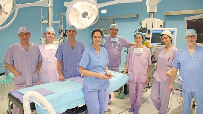 Ana Ayerbe, jefa del Servicio de Anestesiología y Reanimación