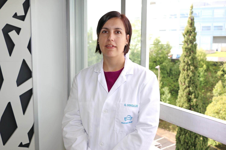 Susana González, psicóloga de Policlínica Gipuzkoa