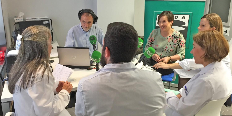 Programa de Gipuzkoa en la Onda en Policlínica Gipuzkoa en Eibar