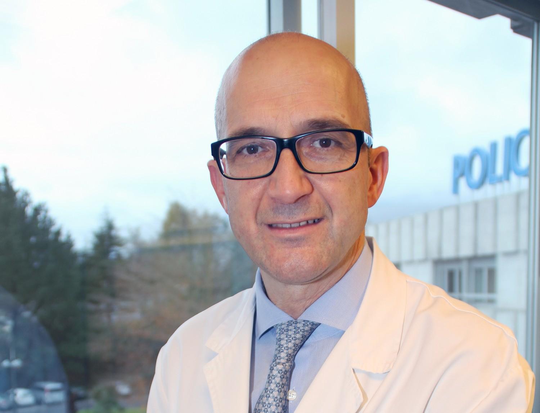 El Dr. José Miguel Izquierdo, cirujano torácico de Policlínica Gipuzkoa