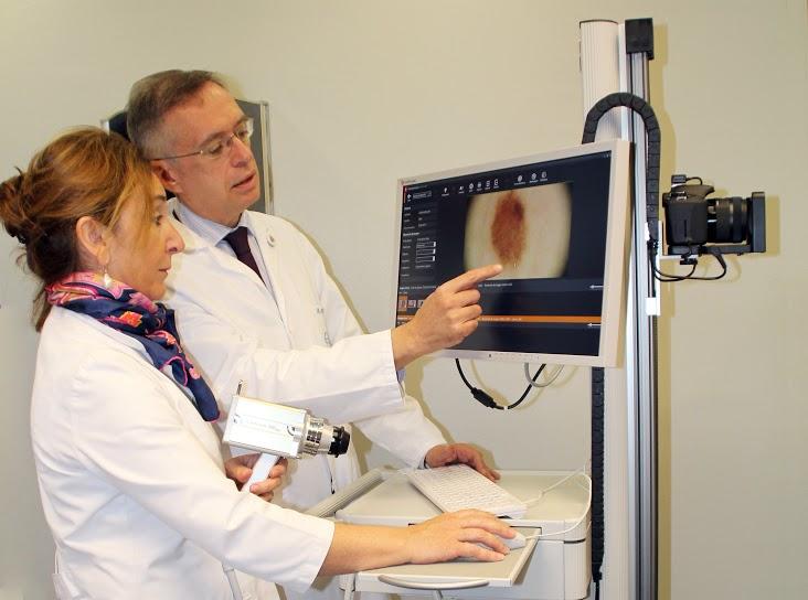 La tecnología del Foto Finder, un dispositivo avanzado con el que cuenta Policlínica Gipuzkoa desde hace un año