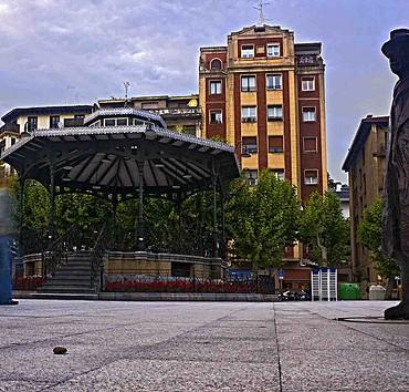 Estudios gratuitos de la pisada en la Plaza del Ensanche de Irún