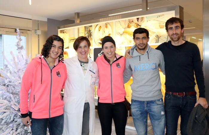 visita_real_sociedad_navidad_policlinica_gipuzkoa_2015_10
