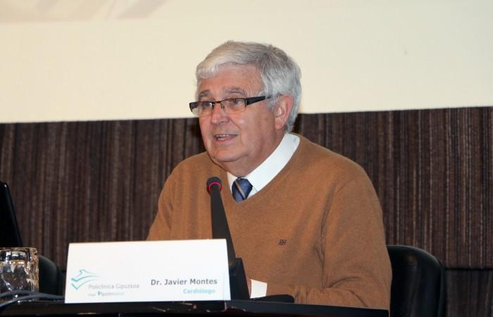 El cardiólogo, Javier Montes, en el Aula de Salud