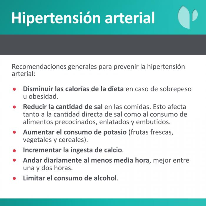 Consejos Quirónsalud para la Hipertensión