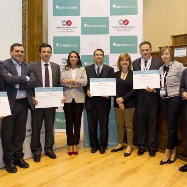 Homenajeados en los Premios Quirónsalud a Mejores Iniciativas en Seguridad del Paciente