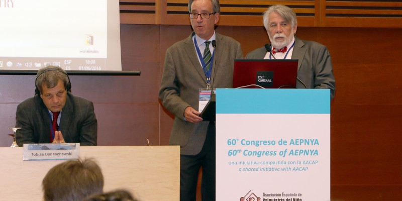 Fotos Congreso 60º Congreso AEPNYA-AACAP Psiquiatria Infantil Kursaal Dr. Fuentes Policlinica Gipuzkoa