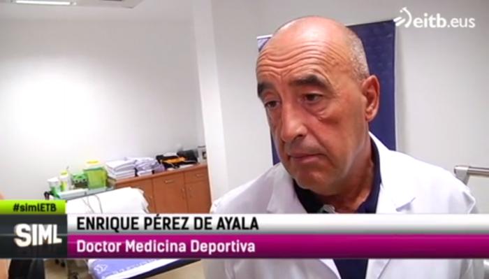 Enrique Pérez de Ayala entrevistado en ETB2.