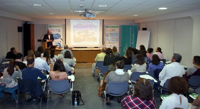Jornada de Medicina Deportiva en el Ateneo de Policlínica Gipuzkoa.