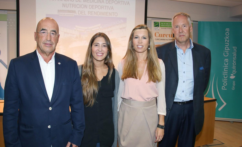 Los ponentes, de izda a dcha: Enrique Pérez de Ayala, Toscana Viar Morón, Mireia Porta y Per Björk.