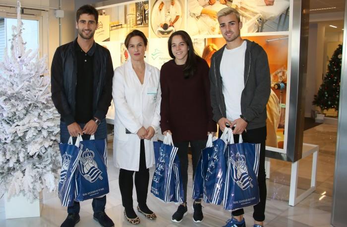 Markel Bergara, Sonia Roussel, Cristina Cornejo y David Concha.