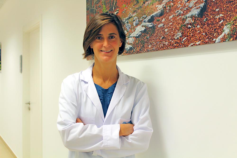 Ana Arena, neurofisióloga de la Unidad del Sueño.