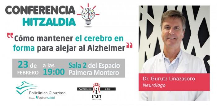 Gurutz linazasoro, conferencia en Irún 23 de febrero
