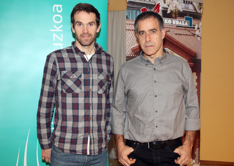 Garikoitz Etxebeste y Bihurri en el Aula de Salud de Eibar.
