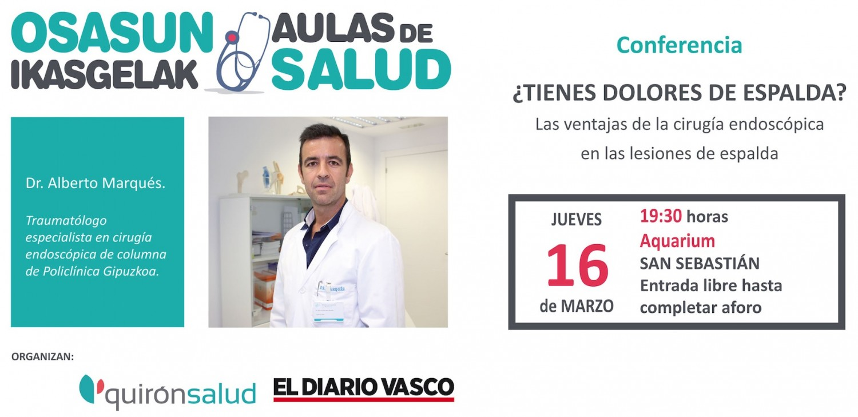 Aula de Salud - Alberto Marqués