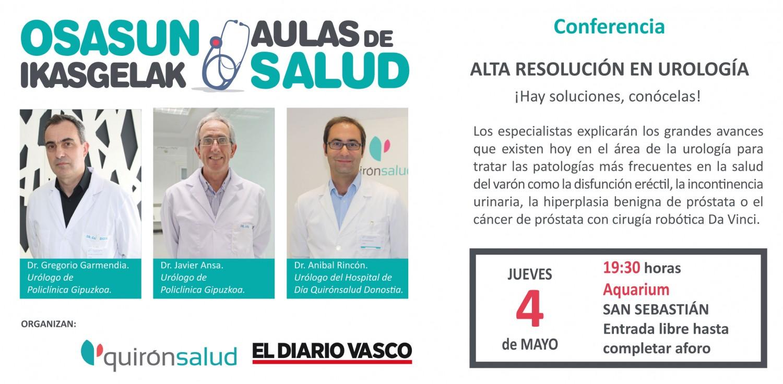 Aula de Salud - Urología