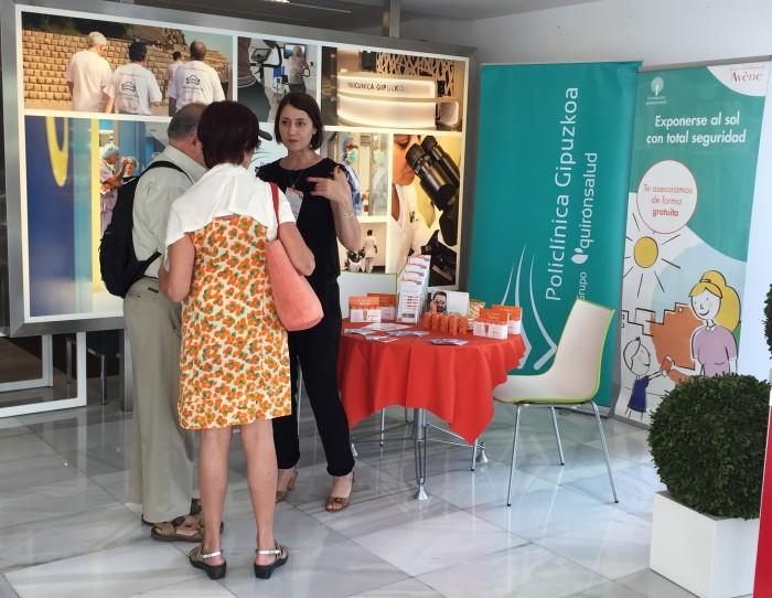 Exitosa Jornada de sensibilización sobre protección solar en Policlínica Gipuzkoa, con motivo del Día Europeo de la Prevención del Cáncer de Piel