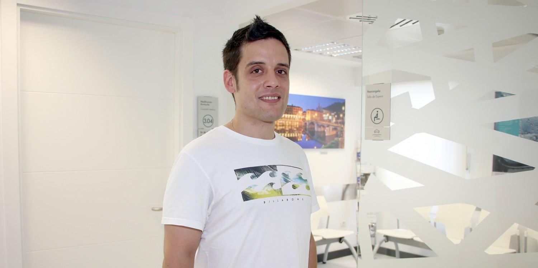 Milian Casado, paciente operado por el traumatólogo, Alberto Marqués