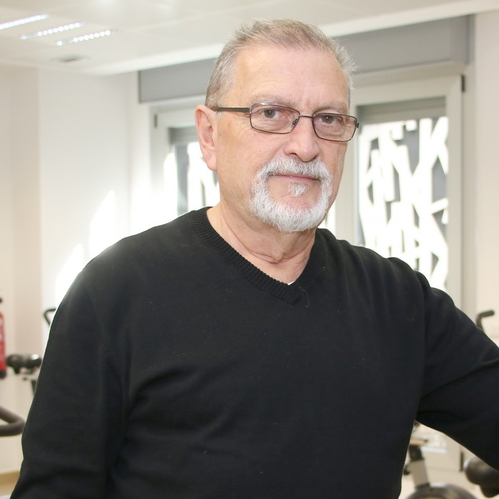 Luciano García, paciente operado de corazón