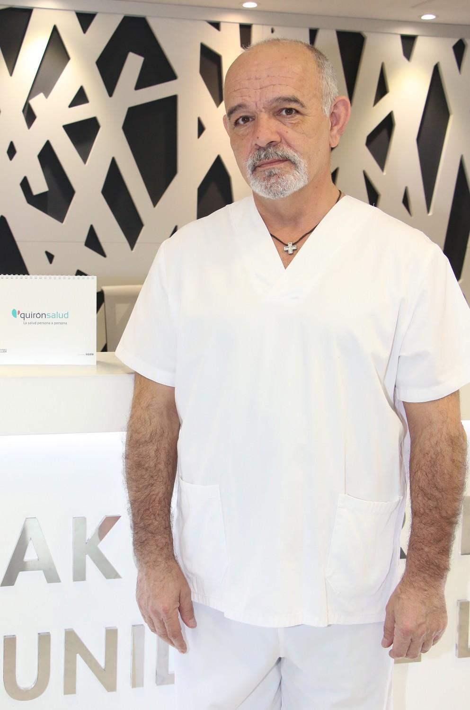 Toño Lara, ginecólogo de Policlínica Gipuzkoa.