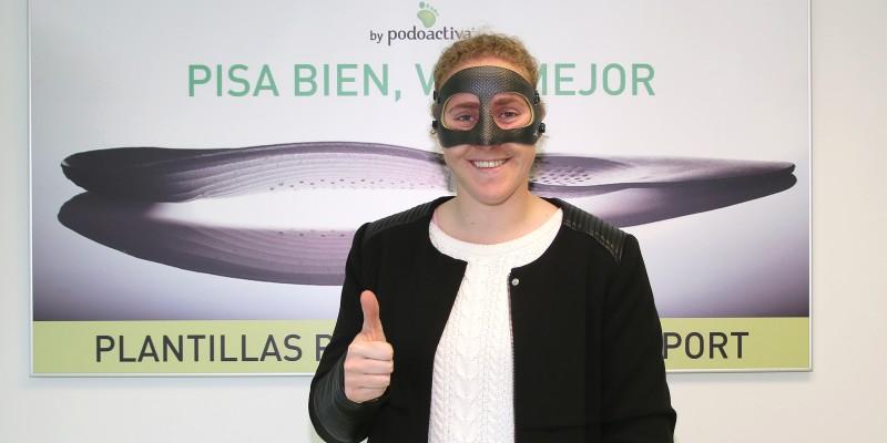 mariasun_portera_real_sociedad_mascara_facial_protectora_unidad_del_pie_policlinica_gipuzkoa_0