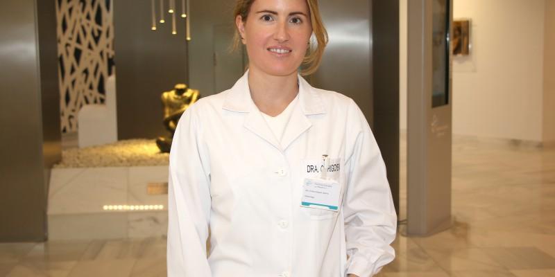 Cristina Irigoyen, oftalmóloga