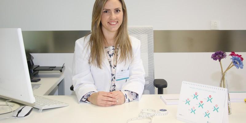 Eider Sánchez, nutricionista
