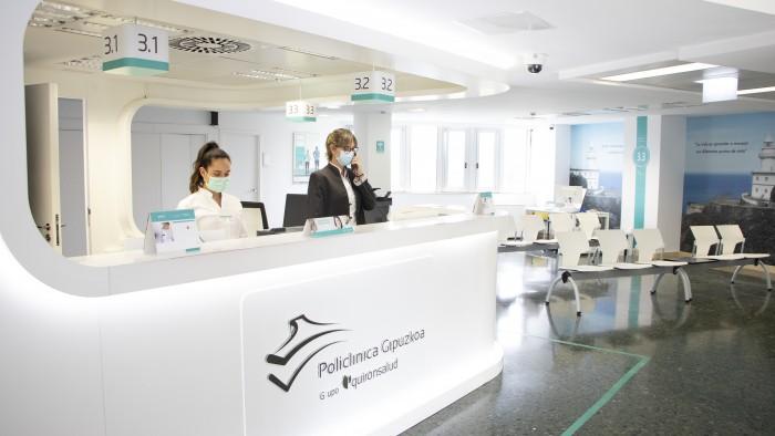 Administrativas y sala de espera planta 3 PG